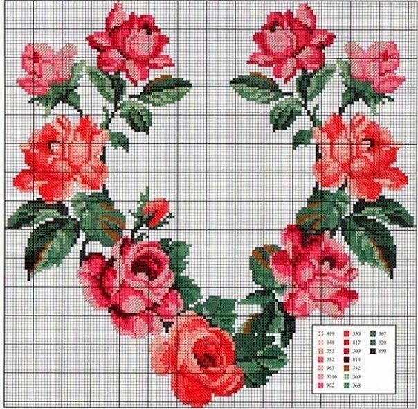 Сердце из роз картинки и фото   подборка 008