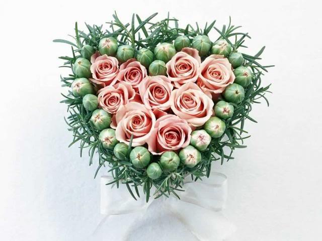 Сердце из роз картинки и фото   подборка 017