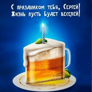 Серегу с днем рождения прикольные   поздравления 028