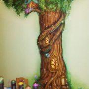 Сказочное дерево детские рисунки   подборка020