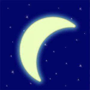 Сказочное объяснение облика луны картинки 024