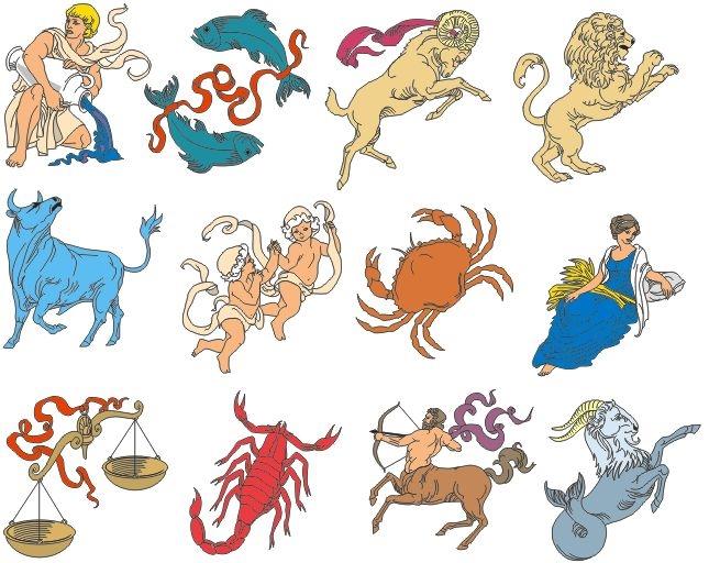 можно веселые картинки знаки зодиак почтой