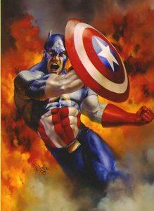 Скачать картинки Капитана Америка   лучшие арты016