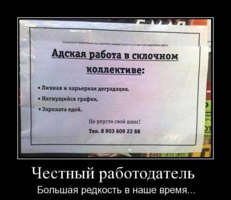 Смешные демотиваторы про зарплату   картинки 027