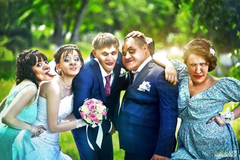 Смешные картинки со свадьбы   подборка006