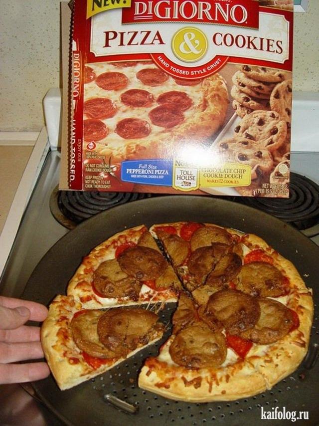 Смешные картинки с пиццей   подборка 023