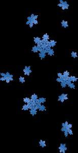 Снежинки картинки для детей на прозрачном фоне 025