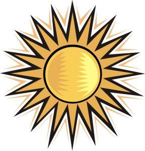 Солнечно картинки для детей 025