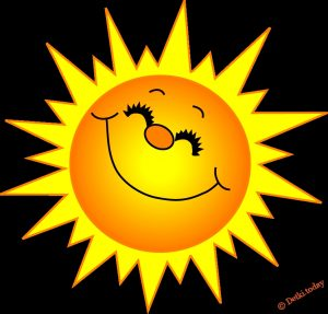 Солнце для детей рисунки и картинки 029