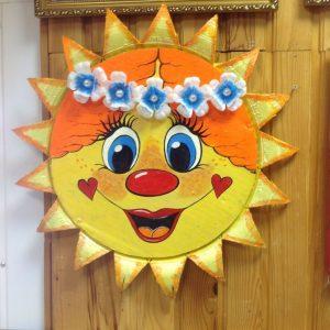 Солнышко с лицом картинки для детей 024