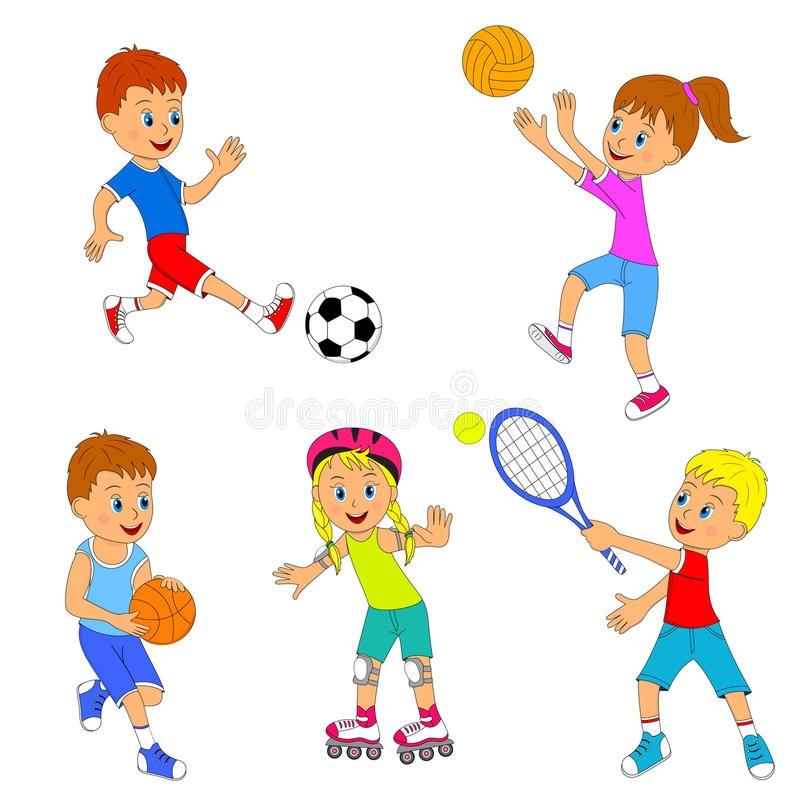 Занятие спортом в картинках в детском саду