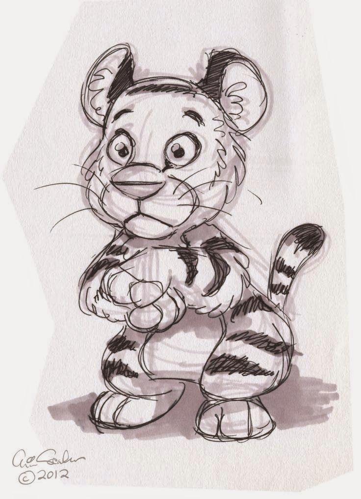 Животные рисунки прикольные карандашом, открытки днем