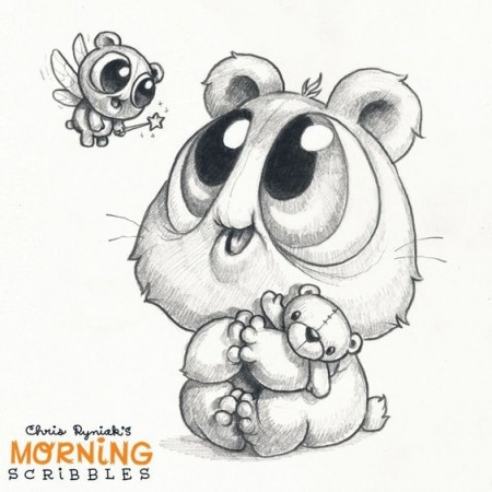 Срисовать карандашом прикольные рисунки   подборка 021