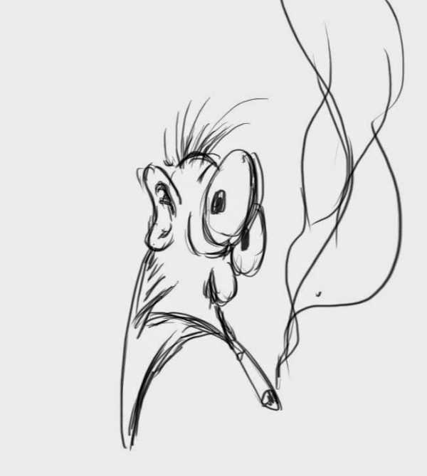 Прикольные картинки карандашом срисовывать