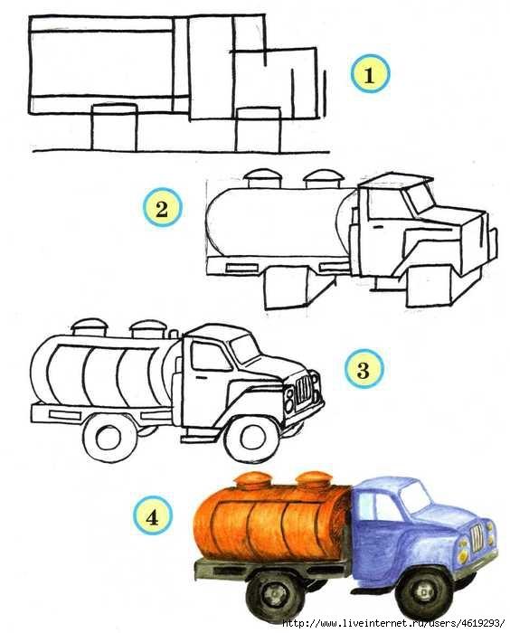 Старинный транспорт картинки для детей 004