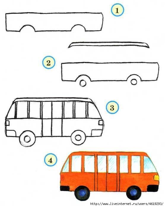 Старинный транспорт картинки для детей 006