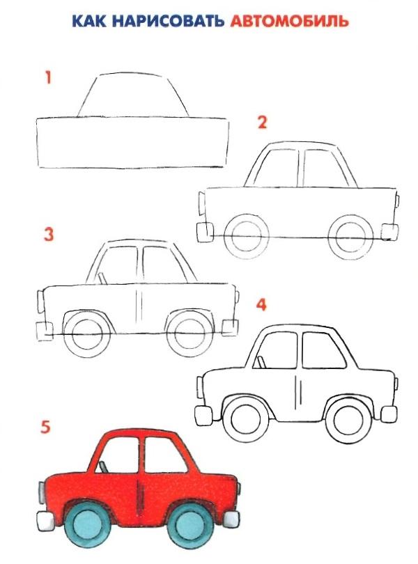 Старинный транспорт картинки для детей 015
