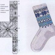 Схема жаккарда для носков   картинки022