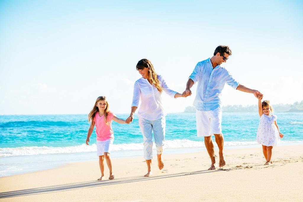 правильно семья на море фото картинки там