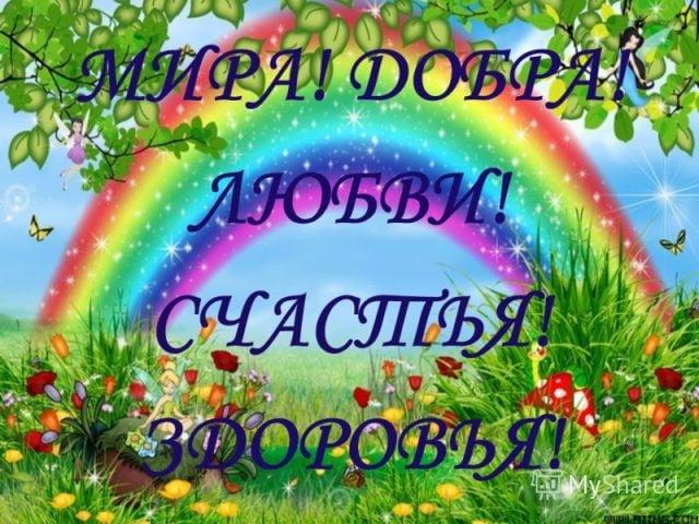 Счастья, добра и мира   прикольные картинки 014