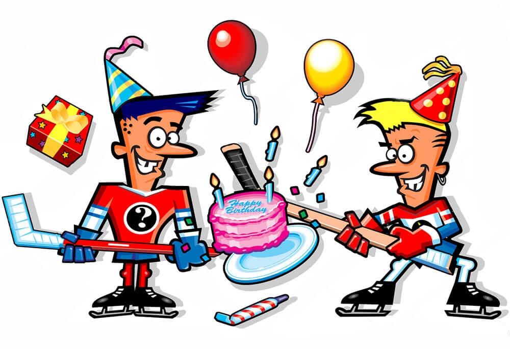 Поздравления хоккеиста с днем рождения проза