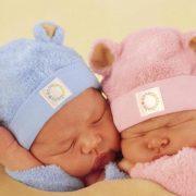 С рождением двойняшек мальчика и девочки   картинки (25)