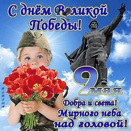 С 9 мая поздравления картинки и открытки (17)