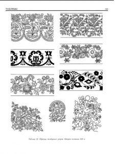 Татарские узоры для оформления текста 027