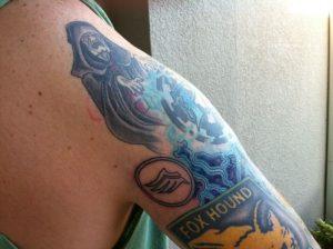 Татуировки Масс эффект   подборка фото028