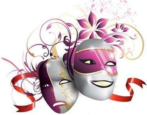 Театральные маски детские картинки   подборка 006
