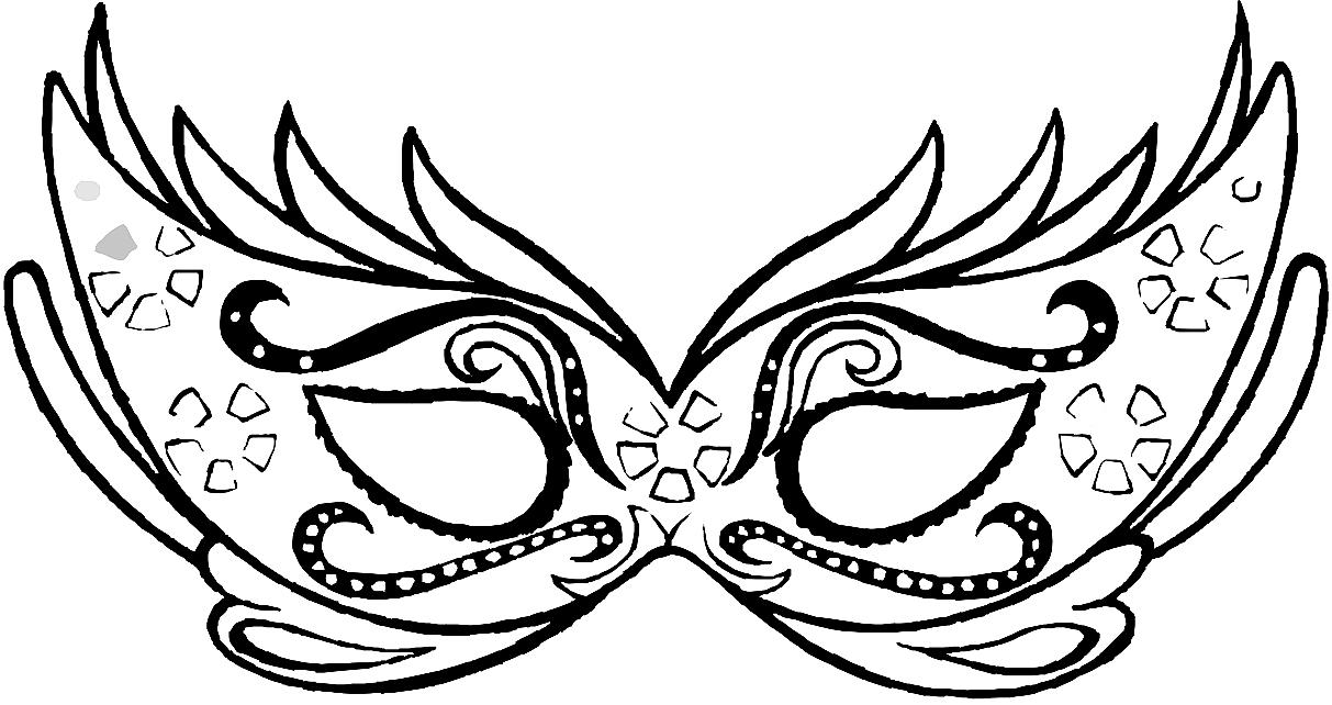 Театральные маски детские картинки   подборка 010