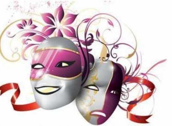 Театральные маски детские картинки   подборка 012