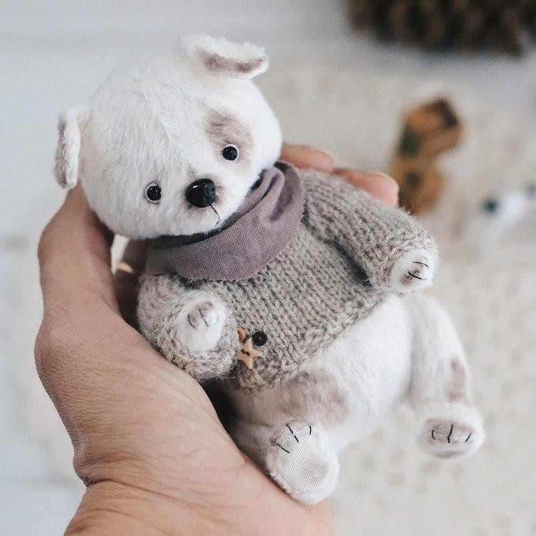 Тедди щенок выкройка   картинки012
