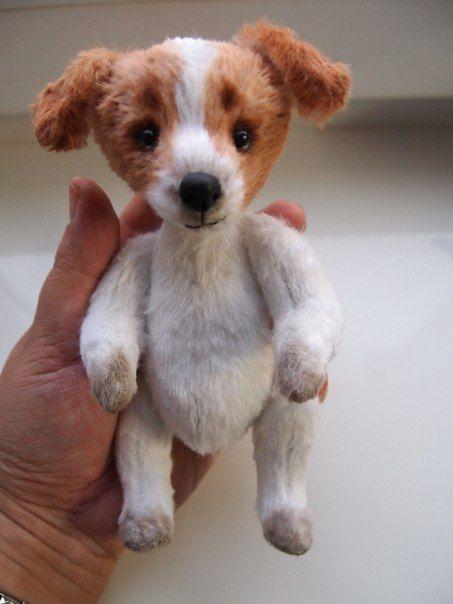 Тедди щенок выкройка   картинки014