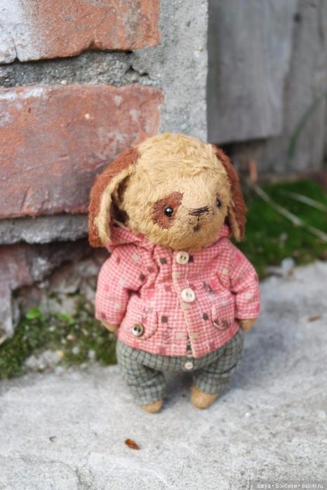 Тедди щенок выкройка   картинки018