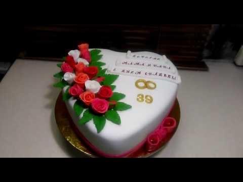 Тортик на годовщину свадьбы   фото 002