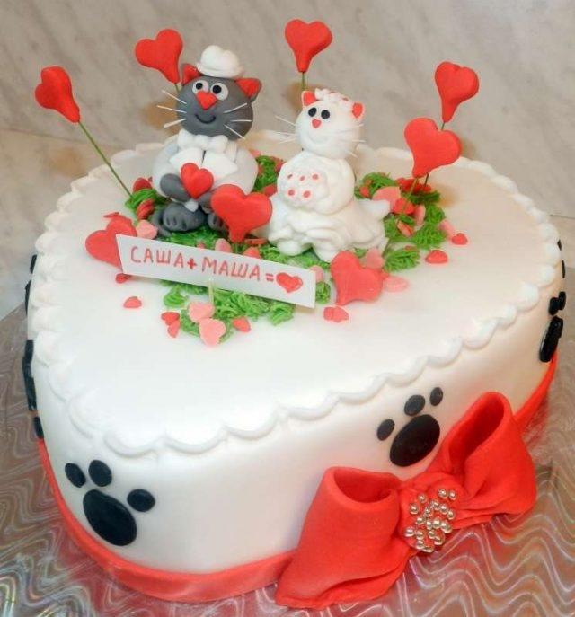 Тортик на годовщину свадьбы   фото 005