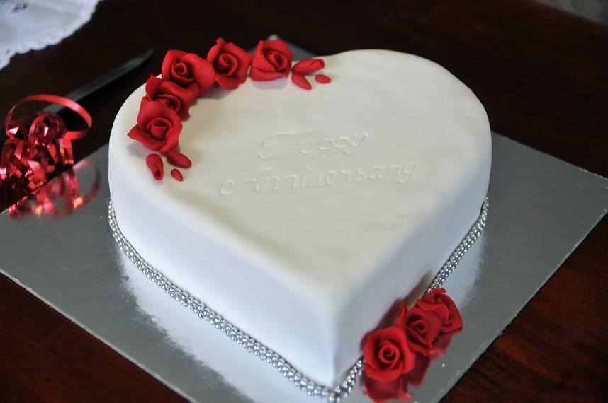 Тортик на годовщину свадьбы   фото 006