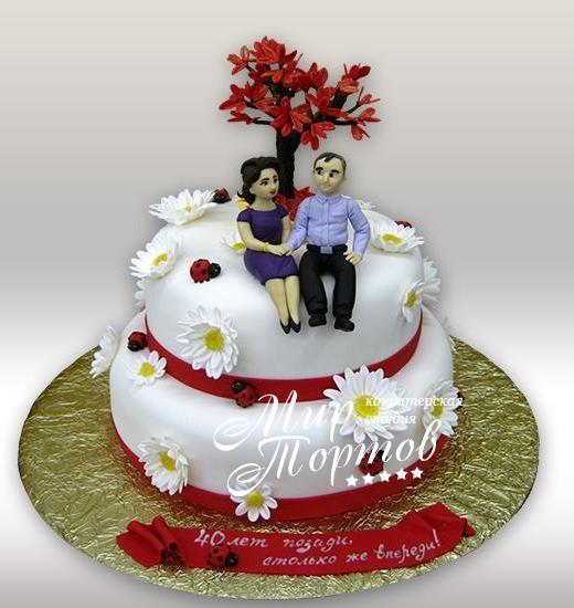 Тортик на годовщину свадьбы   фото 008
