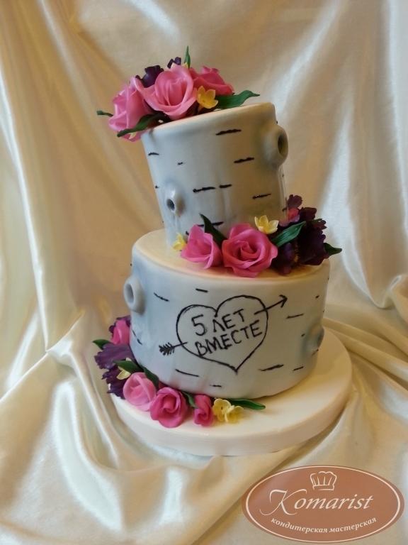 Тортик на годовщину свадьбы   фото 017