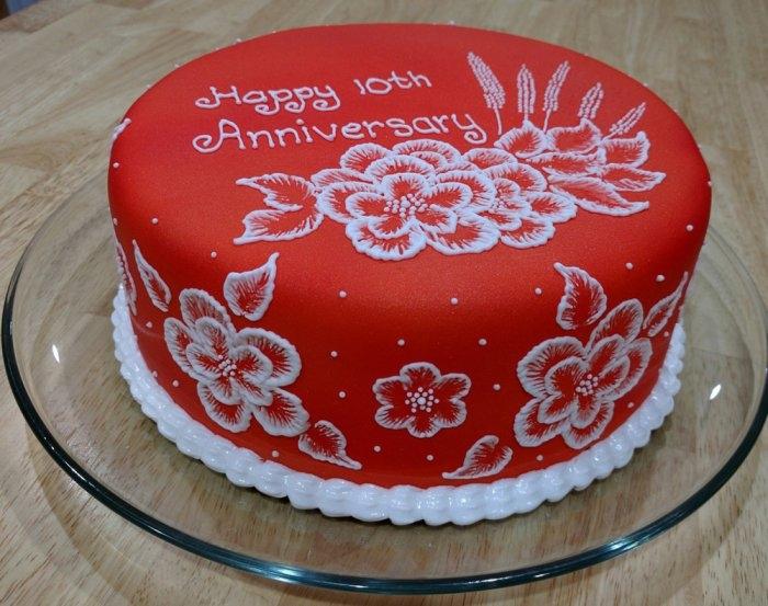 Тортик на годовщину свадьбы   фото 018