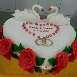 Тортик на годовщину свадьбы   фото 024