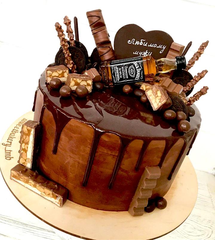 фото красивого торта для мужа комплект топ
