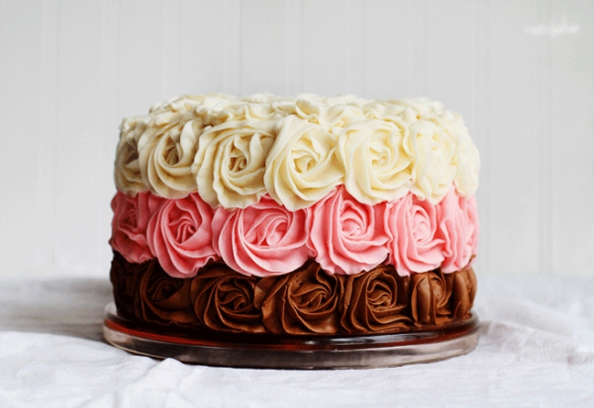 Торты с цветами фото   красивая подборка 011