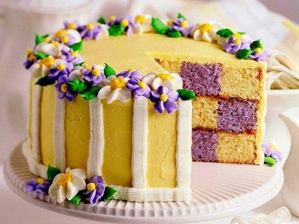 Торты с цветами фото   красивая подборка 012