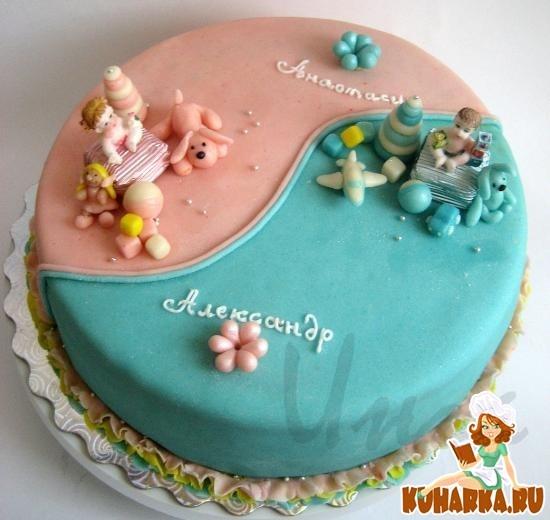 Торт для брата и сестры   красивые фото006