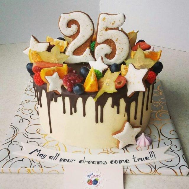 Торт для брата и сестры   красивые фото008