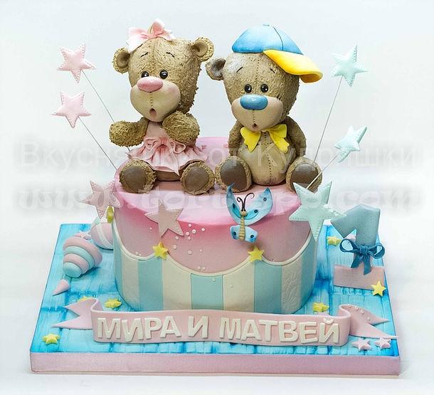 Торт для брата и сестры   красивые фото011