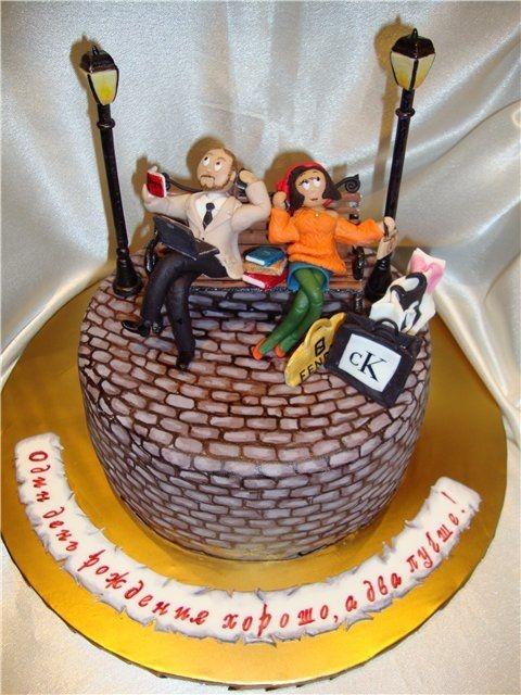 Торт для брата и сестры   красивые фото017