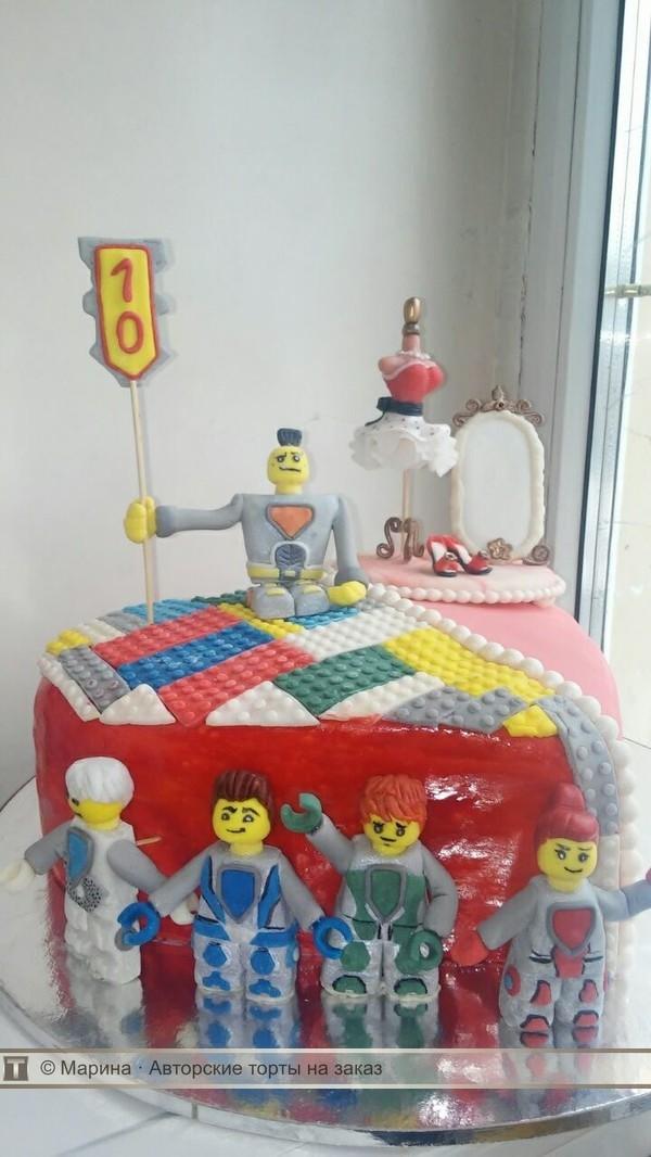 Торт для брата и сестры   красивые фото019